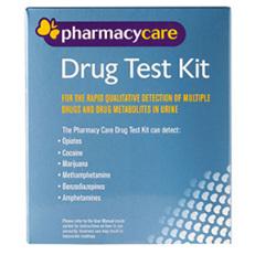 PHARMACY CARE DRUG TEST KIT