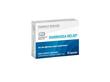 Pharmacy Health Diarrhoea Relief  10's