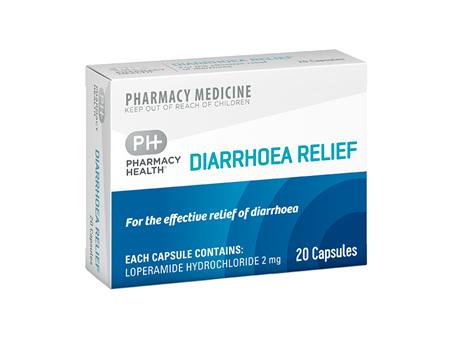 Pharmacy Health Diarrhoea Relief  20's