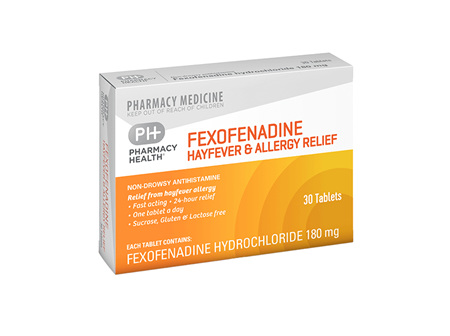 Pharmacy Health Fexofenadine & Allergy Relief 30's