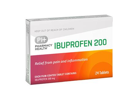 Pharmacy Health Ibuprofen 24's