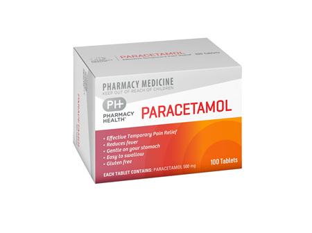 Pharmacy Health Paracetamol  100's
