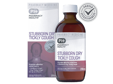 Pharmacy Health Stubborn Dry Tickly Cough (Pholcodine Strong) 200ml