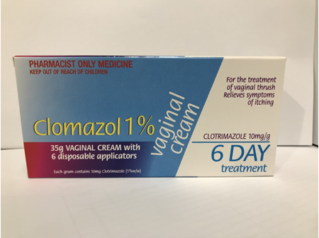 Pharmaist Only - CLOMAZOL Vag. Crm & 6 Appl. 35g