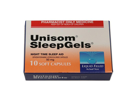Pharmaist Only - UNISOM Sleep Gel Caps 50mg 10