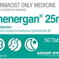 Phenergan 25mg Tablets