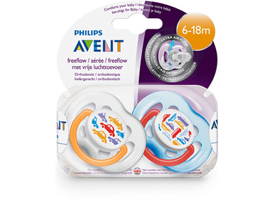 Philips Avent 6m+ Fashion Soother 2pk