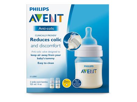 Philips Avent Anti-colic Bottle 125ml 2pk