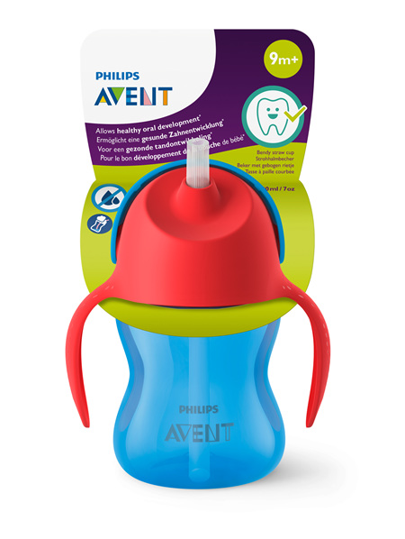Philips Avent Bendy Straw Cup 200ml