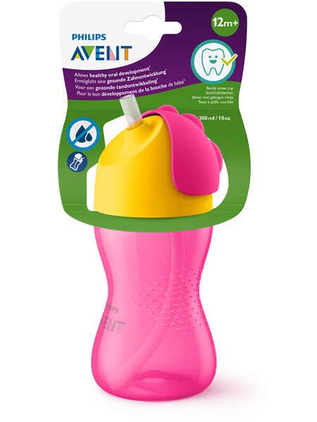 Philips Avent Bendy Straw Cup 300ml