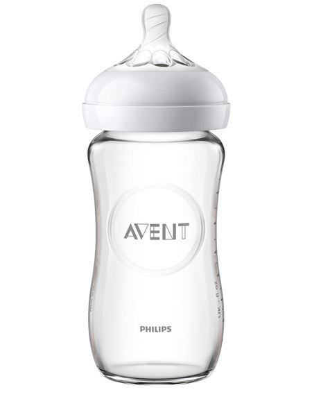 Philips Avent Natural Glass Bottle 240ml