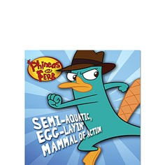 Phineas and Ferb beverage napkins (16)