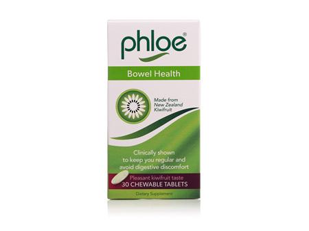PHLOE BOWEL HEALTH CHEW TAB 30