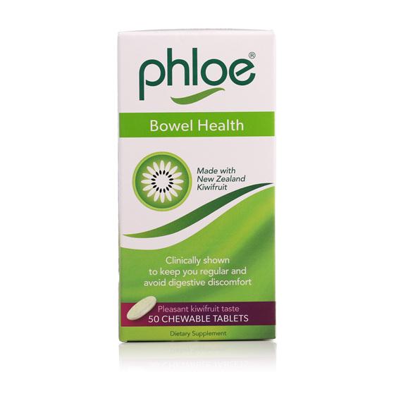 PHLOE BOWEL HEALTH CHEW TAB 50