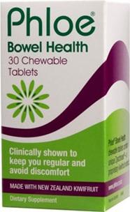 Phloe Bowel Health Chewable Tablets 30s