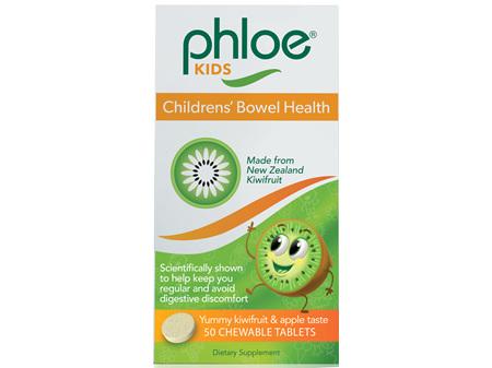 PHLOE Bowel Health Kids Chew 50tabs