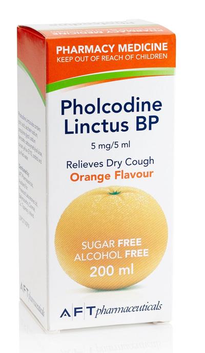Pholcodine Linctus 5mg/5ml 200ml