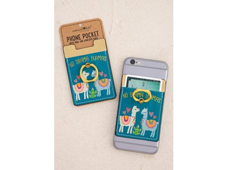 Phone Pocket-No Drama Llama