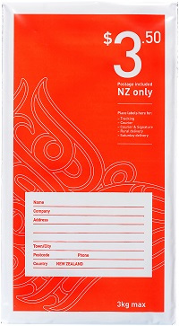 $3.50 NZ prepaid bag - size 1