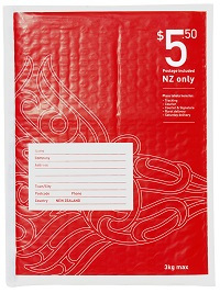 $5.50 NZ prepaid bag - bubble size 2