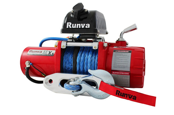 9.5XS (9,500lb) 12V Rock Crawl Winch (Dyneema)