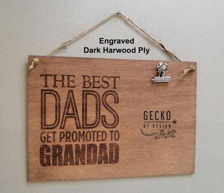 Photo Clipboard - Best Dads