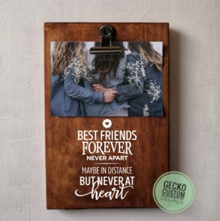 Photo Clipboard - Best Friends
