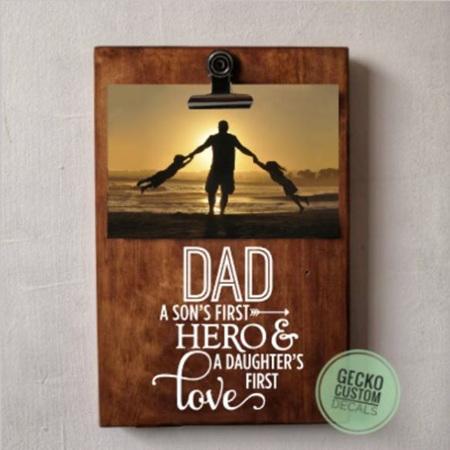 Photo Clipboard - Dad