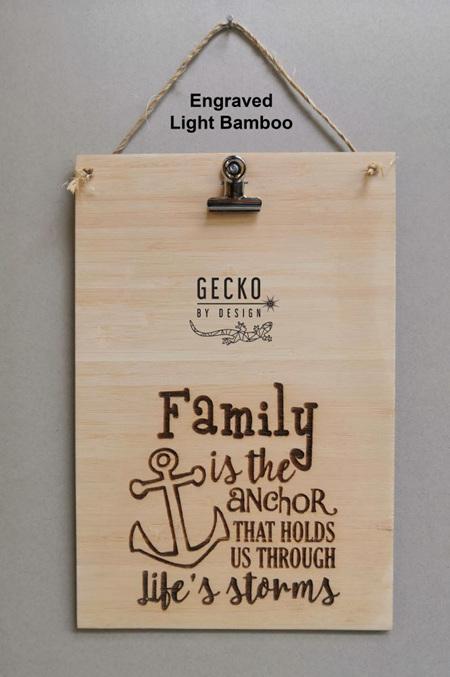 Photo Clipboard - Family