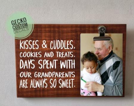 Photo Clipboard - Grandparents