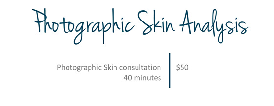Photographic Skin Analysis pricelist