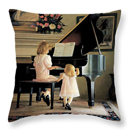 Piano Lessons Cushion Cover