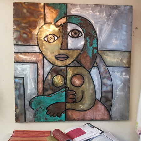 Picasso's Woman Metal