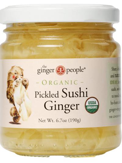 Pickled Sushi Ginger - 190g