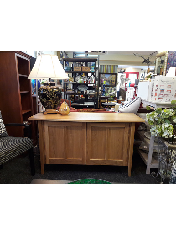 Pico TV Cabinet Oak Natural Designed and Made to order New Zealand
