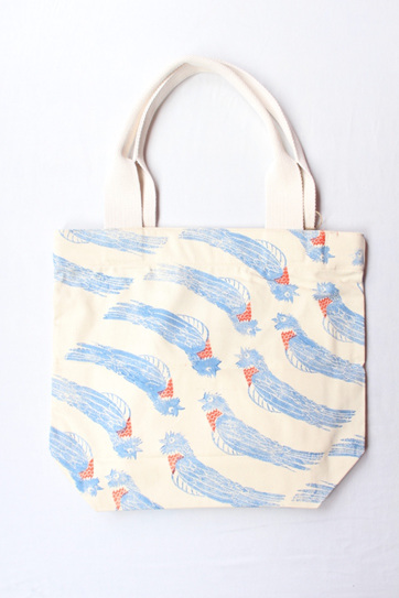 Piet-My-Vrou Tote with Webbing Handle