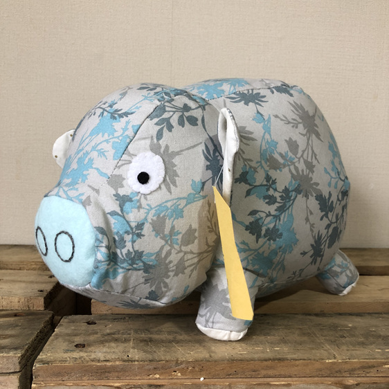 Pig - Grey and Blue