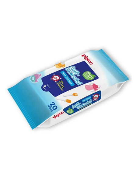 Pigeon Anti Bacterial Wipes 20 pack