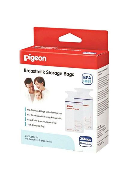 Pigeon Breast Milk Storage Bags 25 pack