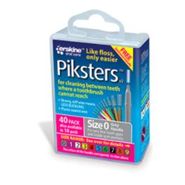 PIKSTERS INTERDENT BRSH PK40 0