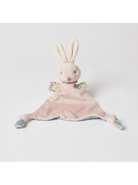 Pilbeam Jiggle & Giggle Pink Bunny Soother