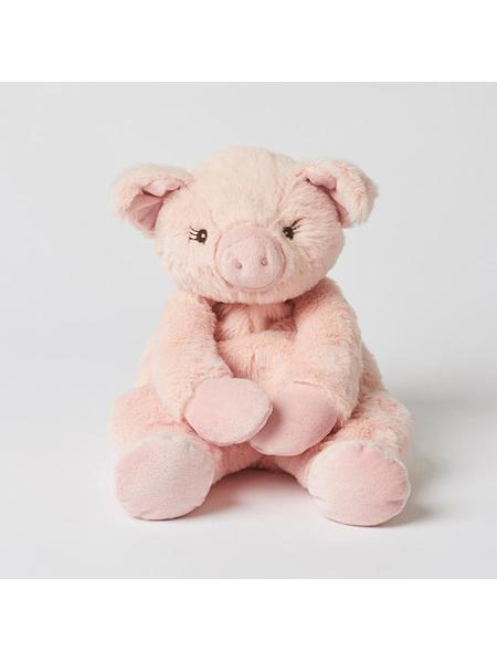 Pilbeam Jiggle & Giggle Plush Pig