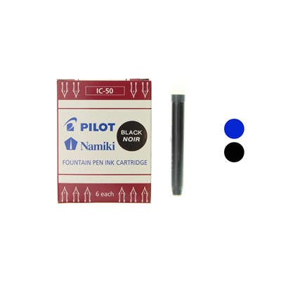 Pilot fountain pen ink cartridges