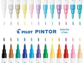 Pilot Pintor Extra Fine Singles