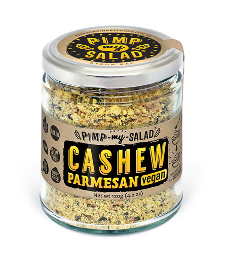 Pimp My Salad - Cashew Parmesan