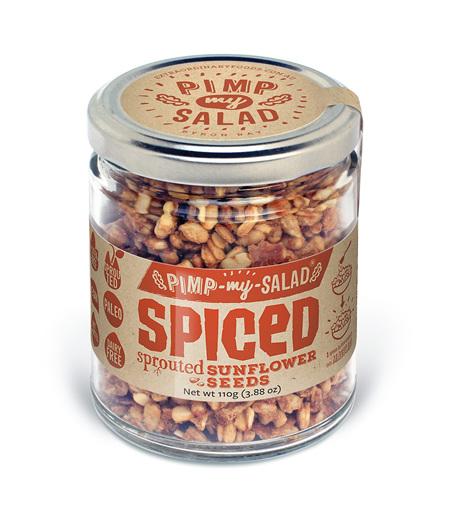 Pimp My Salad - Spiced Sunflower Seeds