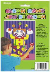 Pin the Clown Game
