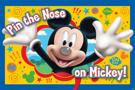 Pin the nose on Mickey Mouse