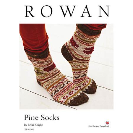 Pine Socks by Erika Knight