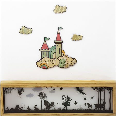 PINE WALL ART CASTLE